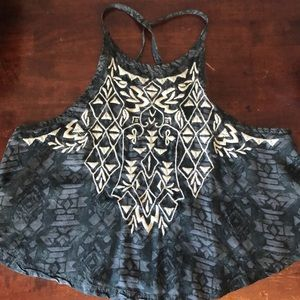 Hollister cropped top